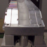 A Finished Blower Tube Mold