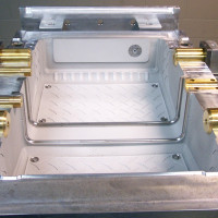An example of a mold for manufacturing coolers