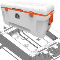 outdoor cooler mold and product sample