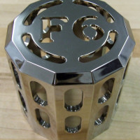 A Custom Machined Cover for an Oil Filter